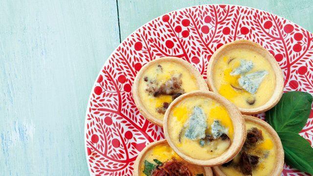 quiche-tartlets
