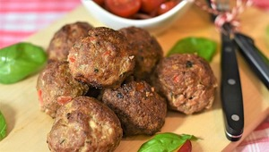 Thumb meatballs hack fishball meat minced meat dinner benefit from