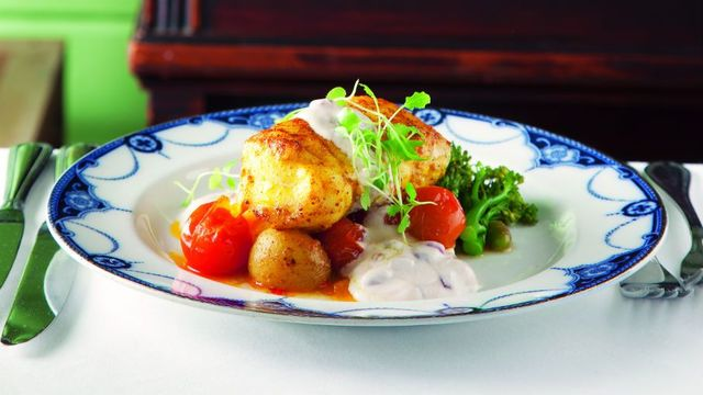 curried-monkfish-with-bombay-potatoes-and-pomegranate-riata
