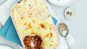 Thumb shepherdless pie with lentils