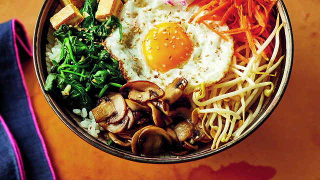 Korean Rice Bowl (Bimibap)
