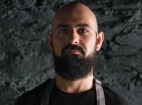 Michelin starred chef, Ahmet Dede, Head Chef in Mews Restaurant, Baltimore