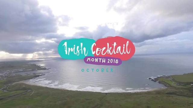 Irish Cocktail Month 2018 launches this October