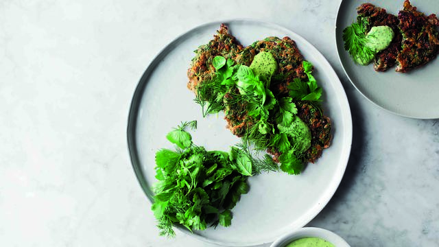Iranian Herb Fritters from SIMPLE