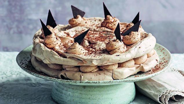 Darina Allen\'s Chocolate Meringue Gateau