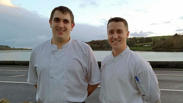 Head Chef Shane Deane and Executive Chef Alex Petit