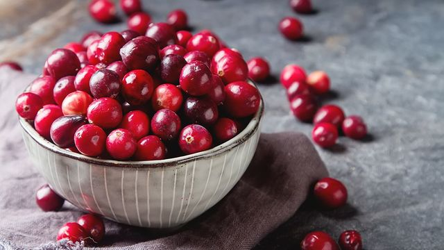 Three great ways to use cranberries this festive season