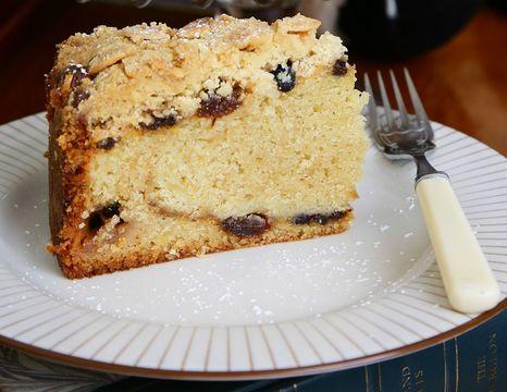 Alternative Christmas Cake.Deep Filled Apple Mincemeat Crumble Cake