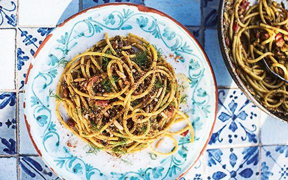 Sardine and wild fennel sauce, Sicily: Recipes from an Italian island