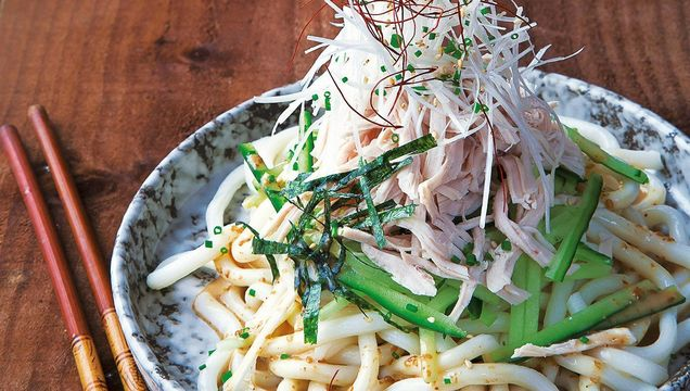 Turkey Bang Bang Salad with Udon Noodles