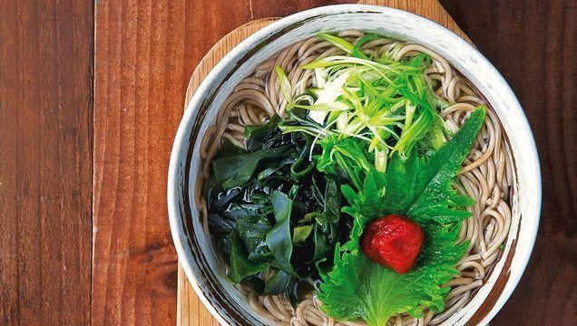 Hot Soba Noodle Soup