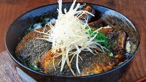 Herring with Sansho Pepper and Japanese rice