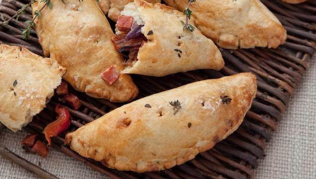 Smoked Chorizo and Roasted Pepper Hand Pie