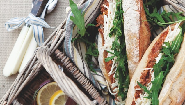 Pulled Pork Baguette with Celeriac Remoulade