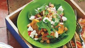 Chickpea And Feta Summer Salad