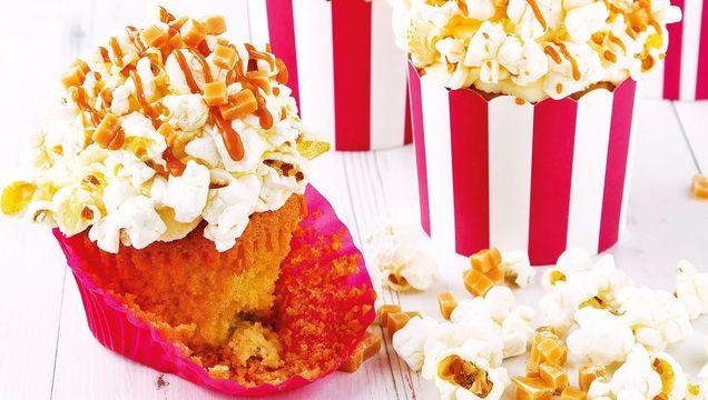 Popcorn Cupcakes