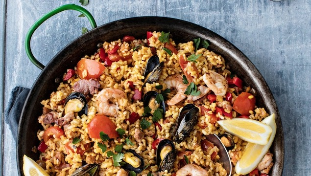 Bord Bia \'Flex Your Mussels\' Paella