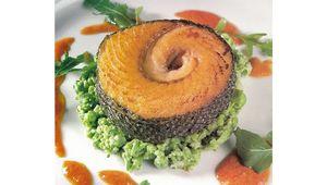 Colin O\'Grady\'s grilled salmon