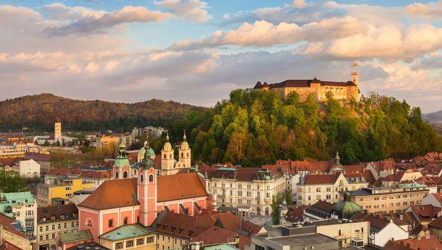 Slovenia\'s capital city, Ljubljana