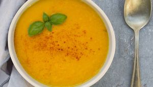 Thumb carrot and ginger soup gettyimages 653075320 edit