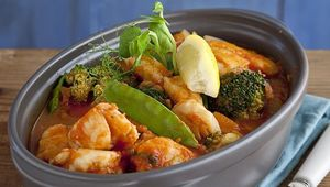 Thumb oarhouse monkfish stew