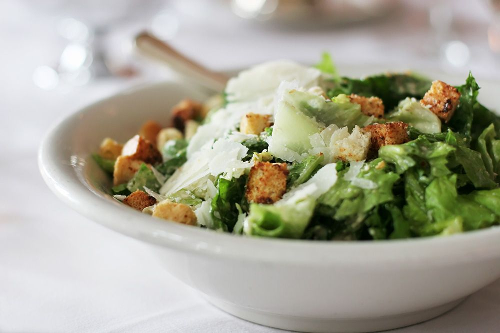The History Of The Caesar Salad Food And Wine