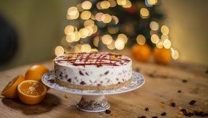Thumb mincemeat cheesecake