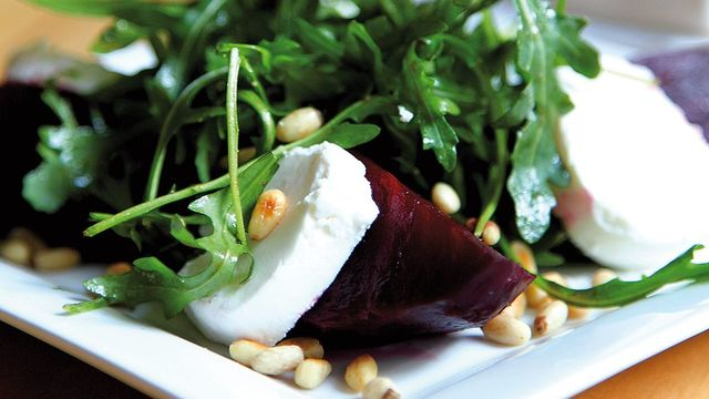 Donal Skehan\'s beetroot and goats cheese salad from 2011