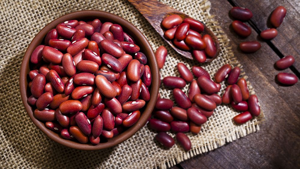 Pantry Staples Kidney Beans Food And Wine
