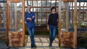 Michael Kelly and Karen O'Donohoe from GIY