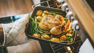 Thumb chicken in oven getty main