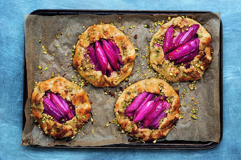 Featured rhubarb tart clodagh mckenna