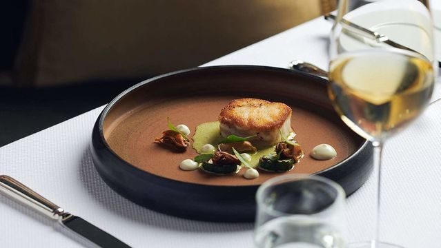 One of Mike\'s dishes from The Oak Room at Adare Manor.