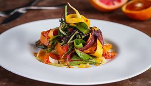 Fennel and citrus salad from FIRE\'s new menu.
