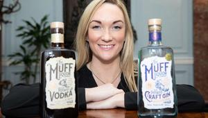 Laura Bonner of the award-winning Muff Liquor Company