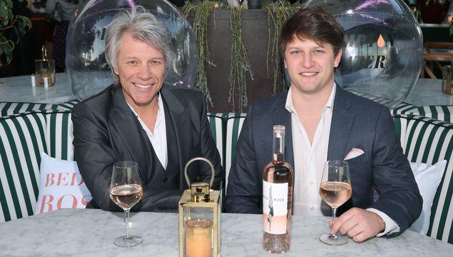 Jon and his son Jesse Bongiovi
