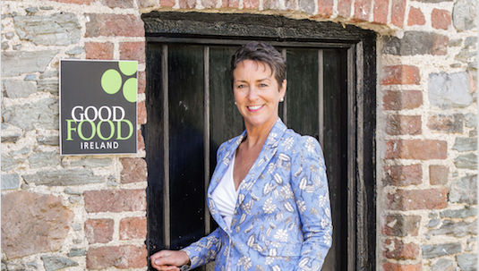 Good Food Ireland founder,  Margaret Jeffares