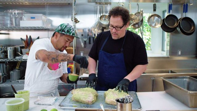 Roy Choi and Jon Favreau have teamed up once again to create The Chef Show for Netflix.