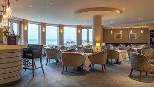 The Seaview Restaurant at Portmarnock Hotel and Golf Links.
