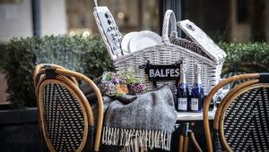 The perfect picnic hamper from Balfes at The Westbury, Dublin.