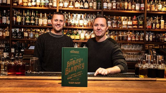 Jack McGarry and Sean Muldoon with their latest book.