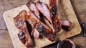 Thumb cooked ribs with sauce gettyimages 1019494532 main