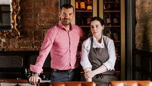 Balloo Inns owner Ronan Sweeney and chef Danni Barry