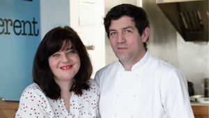 Jenny Holland and Brian Donnelly of Bia Ramen