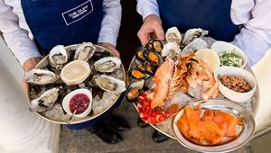 The oyster festival at Cliff Townhouse