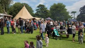 The festival runs until Sunday.