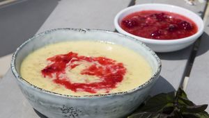 This rice pudding recipe from The Duck at Marlfield House is deliciously indulgent.