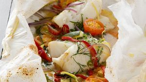 Wade Murphy\'s cod en papillote is a fast and easy recipe to make.