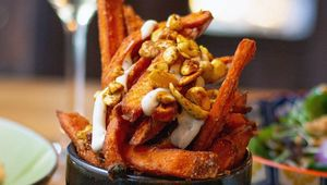 Thumb sweet potatoe fries cleaver east  main