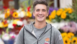 Donal Skehan with Cali Cali products.